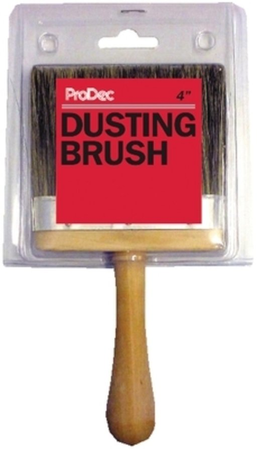 Grey Bristle Dusting Brush, 4 inch