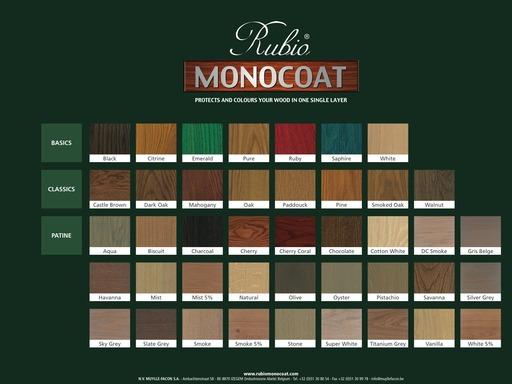 Rubio Monocoat Oil Plus 2c Chocolate 1 3 L Monocoat