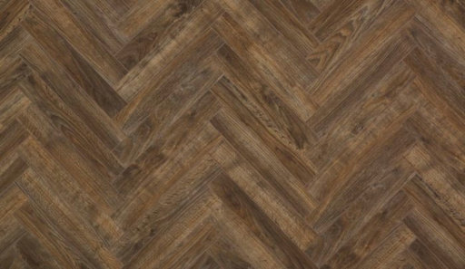 Xylo San Francisco Java Brown Herringbone Laminate Flooring, 84x8x504 mm