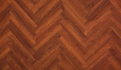 Xylo San Jose Merbau Brown Herringbone Laminate Flooring, 84x8x504 mm