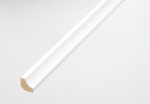 Hdf White Scotia Beading For Laminate, White Beading For Laminate Flooring