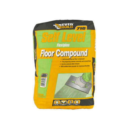 Self Level FlexiPlus Floor Levelling Compound, 20 kg
