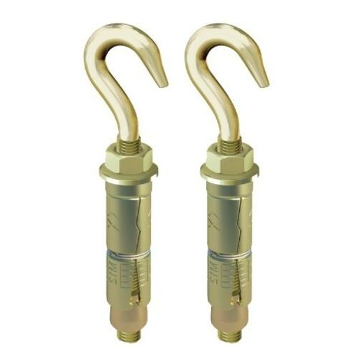 Shield Anchor Hook, M6x50 mm, 2 pk