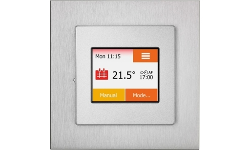 NGTouch Thermostat, Silver, Aluminium