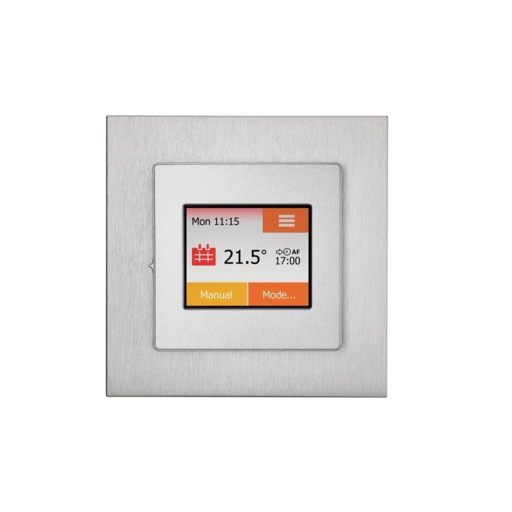 NGTouch Thermostat, Silver, Chrome