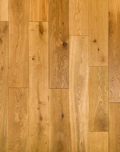 Tradition Kersaint Cobb Solid Oak Flooring, Rustic, Brushed, Oiled, 120x18 mm