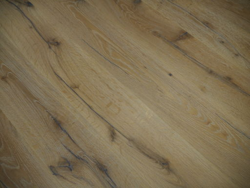 Tradition Antique Oak Engineered Flooring, Rustic, Distressed, Brushed, White, 1900x20x190 mm