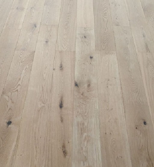 Tradition Engineered Oak Flooring, Natural, Brushed, UV Oiled, 184x20x1840 mm