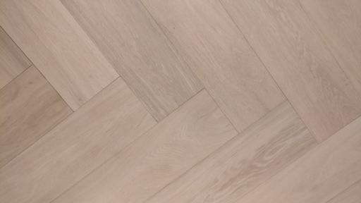 Tradition Engineered Oak Parquet Flooring, Herringbone, Prime, Unfinished, 600x14/3x150 mm