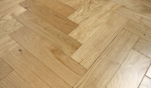 Tradition Engineered Oak Parquet Flooring, Natural, Lacquered, 400x18/4x90 mm