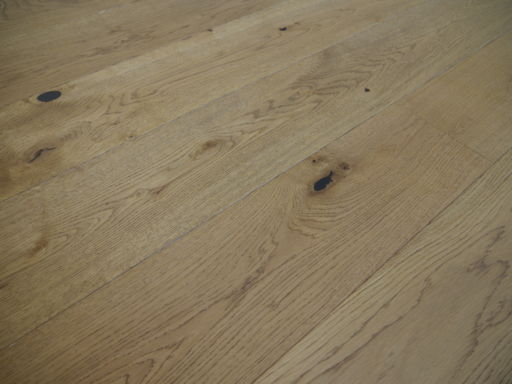 Tradition Engineered Oak Parquet Flooring, Rustic, Golden Brushed & Matt Lacquered, 190x14x1900 mm