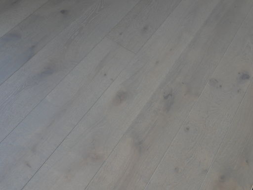 Tradition Harbour Grey Engineered Oak Parquet Flooring, Rustic, 190x14x1900 mm