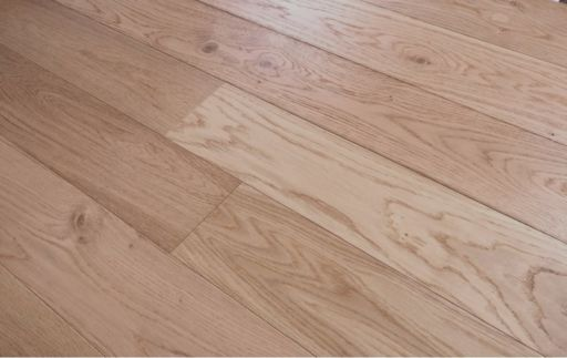 Tradition Oak Engineered Flooring, Natural, Brushed Lacquered, 1200x10/2.5x127 mm