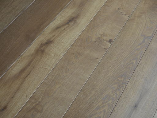 Tradition Smoked Engineered Oak Flooring, Rustic, Oiled, 1900x20/6x190 mm
