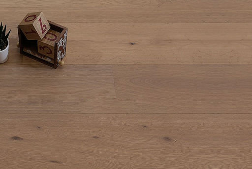 Tradition Smoked White Oak Engineered Flooring, Rustic, Oiled, 1860x15x190 mm
