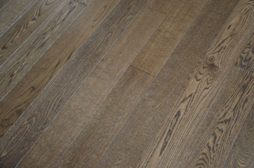 Tradition Smoky Oak Engineered Flooring, Rustic, Brushed Lacquered, 1200x10/2.5x127 mm