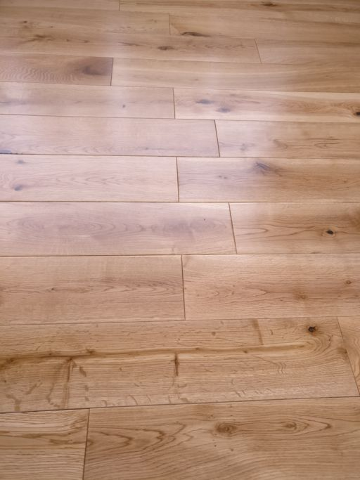 Tradition Solid Oak Hardwood Flooring, Rustic, UV Lacquered, 125x18 mm