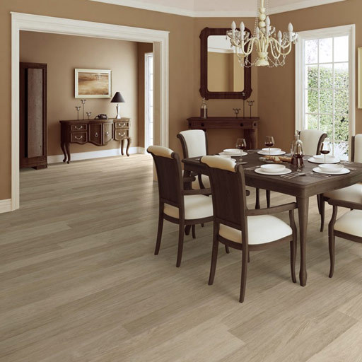 QuickStep ELITE Light Grey Varnished Oak Planks Laminate Flooring 8 mm