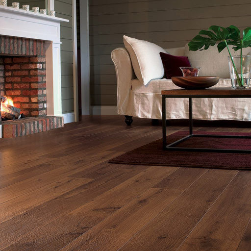 QuickStep PERSPECTIVE Vintage Oak Dark Varnished Planks 4v-groove Laminate Flooring 9.5 mm