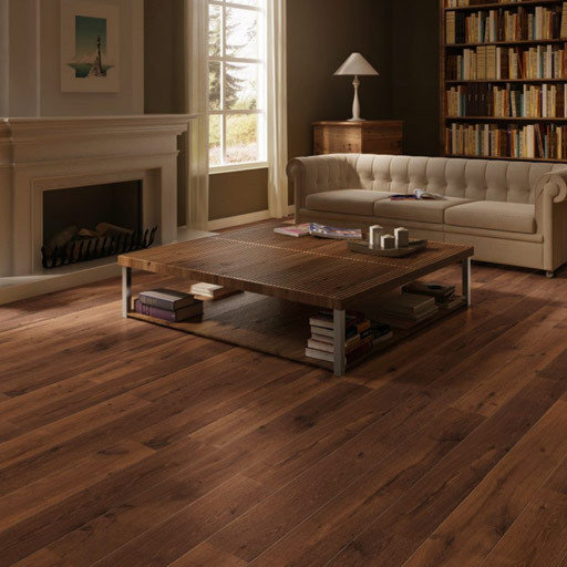 QuickStep PERSPECTIVE Oiled Walnut Planks 4v-groove Laminate Flooring 9.5 mm