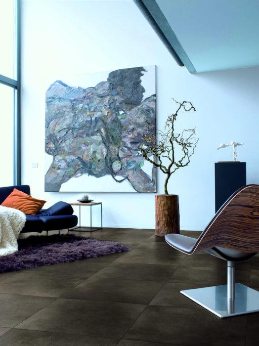 QuickStep ARTE Polished Concrete Dark Laminate Flooring 9 5 mm QuickStep Laminates