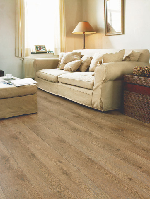 QuickStep PERSPECTIVE Old Oak Matt Oiled Planks 4v-groove Laminate Flooring 9.5 mm