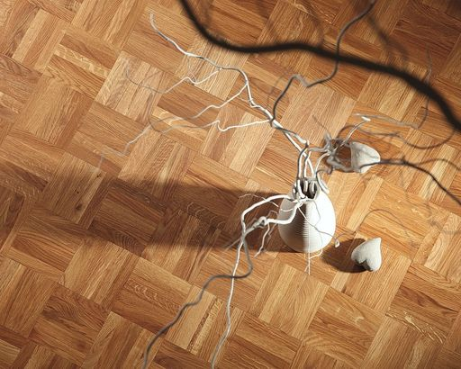 Mosaic Oak Flooring Fingers Panels Prime 480x480 Mm