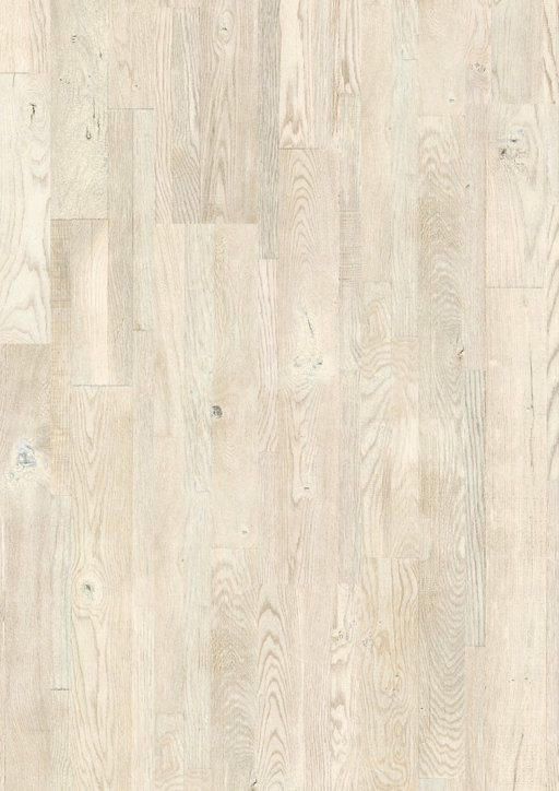 QuickStep Variano Printed White Oak Engineered Flooring, Oiled, Multi-Strip, 190x3x14 mm