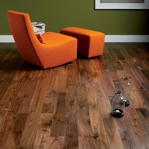 Tradition Engineered Walnut Flooring, Rustic, Lacquered, 1860x20x190 mm