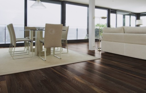 Boen Lava Oak Engineered Flooring, Brushed, Oiled, 138x3.5x14 mm