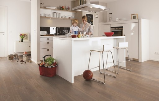 Boen Sand Oak Engineered Flooring, Brushed, Oiled, 138x3.5x14 mm