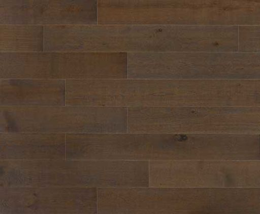 Xylo Dark Mocha Stained Engineered Oak Flooring, Rustic, Brushed & UV Matt Lacquered, 164x2.5x13 mm