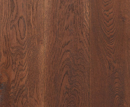 Xylo Engineered Dark Walnut Stained Oak Flooring, Brushed, Rustic, UV Oiled, 190x3x14 mm