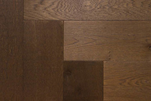 Xylo French Grey Stained Engineered Oak Flooring, Rustic, Herringbone, UV Oiled, 15x4x140 mm