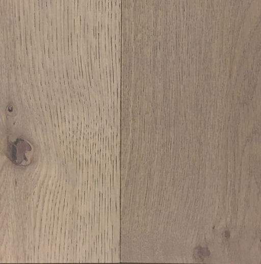 Xylo Mushroom Grey Stained Engineered Oak Flooring, Rustic, Brushed, UV Lacquered, 14x3x190 mm