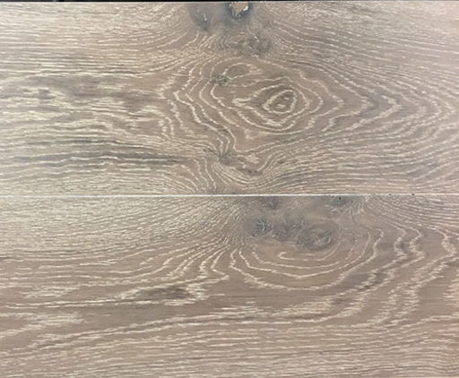 Xylo Polar White Stained Engineered Oak Flooring, Rustic, Brushed & UV Oiled, 190x4x20 mm
