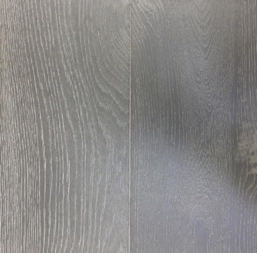 Xylo Silver Grey Stained Engineered Oak Flooring, Rustic, Brushed & UV Oiled, 190x4x20 mm