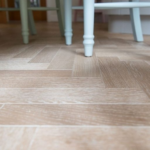 V4 Nordic Beach Engineered Oak Parquet Flooring, Rustic, Stained, Brushed & Hardwax Oiled, 90x15x360 mm