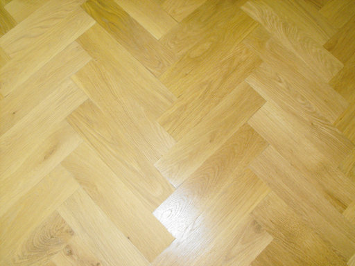 Oak Parquet Flooring Blocks, Natural, 70x350x20 mm