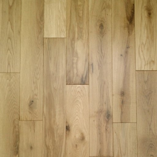Tradition Solid Oak Flooring, Rustic, Lacquered, 90x18 mm