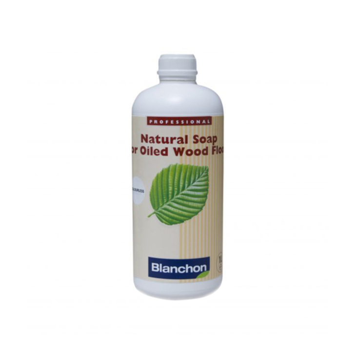 Blanchon Natural White Soap For Oiled Wood Floor 1l
